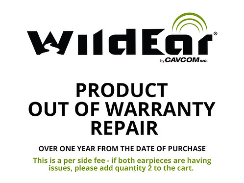 Product Out of Warranty