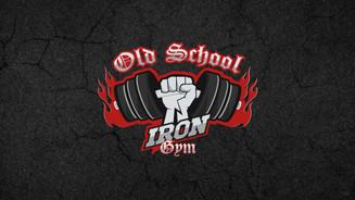 Oldschool Iron Gym Logo