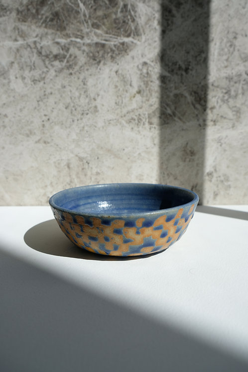 Small Low Checkered Bowl