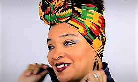 Bold Look Head Wrap Tutorial #11