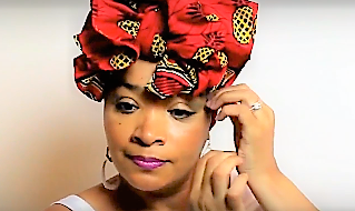 Bold Look Head Wrap Tutorial #2