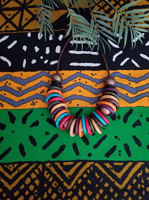 Afrikan Hoop Necklace