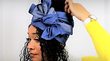 Bold Look Head Wrap Tutorial #14