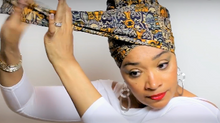 Bold Look Head Wrap Tutorial #8
