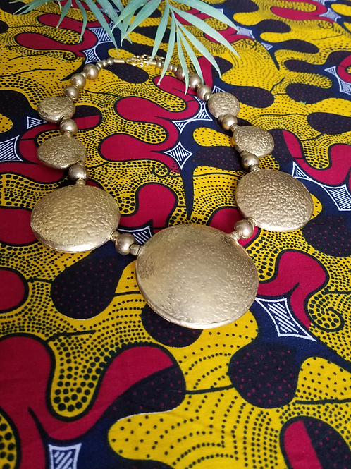 Gold Afrikan Necklace