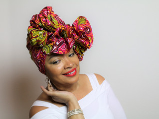 Bold Look Head Wrap Tutorial #3
