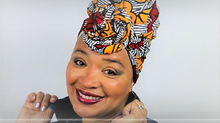 Bold Look Head Wrap Tutorial #10