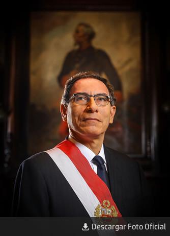 Presidente del Perú, Martín Vizcarra.