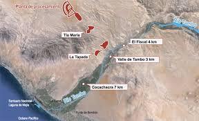 Proyecto minero Tía María, de Southern Perú, implicará inversión de 1.400 millones de dólares.