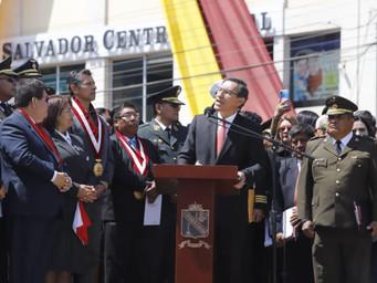 """Caso Chinchero: Presidente Vizcarra afirmó que su participación fue """"legal"""""""