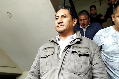 Secretario general de Perú Libre y ex gobernador de Junín Vladimir Cerrón.