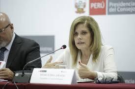 """Vicepresidenta del Perú: """"Voy a defender la democracia en mi país"""""""