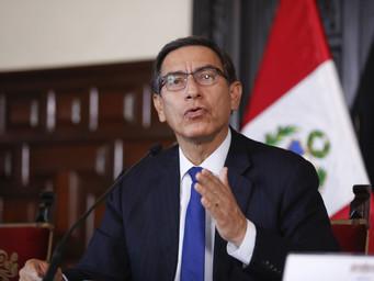 Presidente Vizcarra recibe apoyo de algunos congresistas para adelantar elecciones