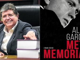 #Metamemorias: El último libro de fallecido ex presidente peruano Alan García