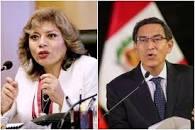 Fiscal de la Nación, Zoraida Ávalos, y Vizcarra.