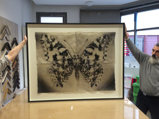Schmetterling in 100x140