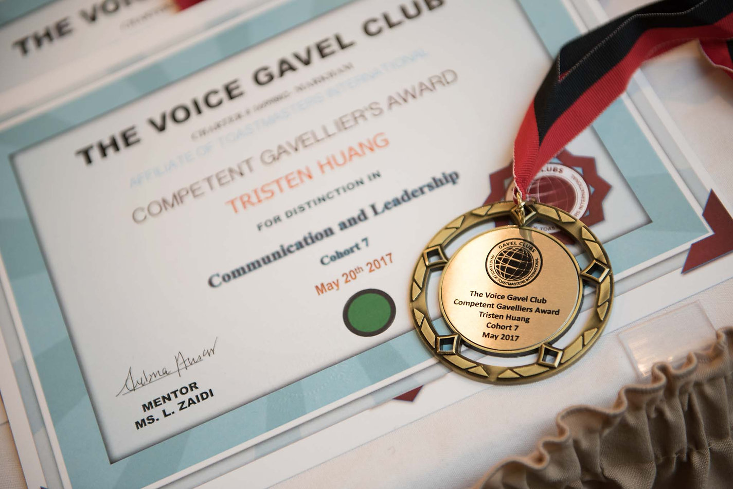 the voice gavel club public speaking youth leadership toastmasters international