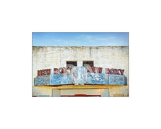 """New Roxy Theatre"" Clarksdale, Mississippi"