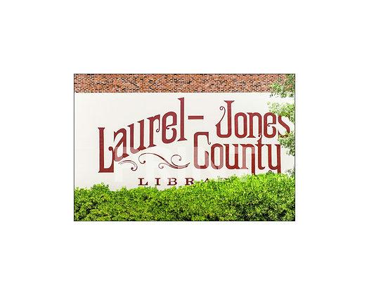 """""""Laurel - Jones County Mural"""" Laurel, Mississippi"""