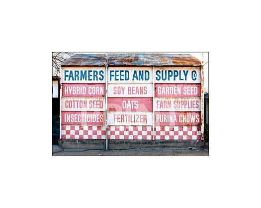 """Farmers' Feed & Supply"" Leland, Mississippi"