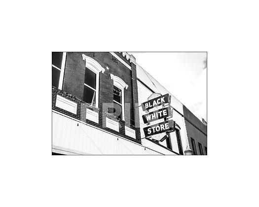 """Black & White Store"" Yazoo, City Mississippi"