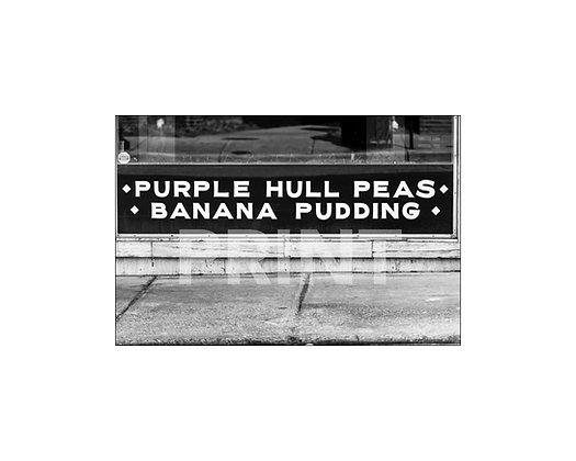 """Purple Hull Peas & Banana Pudding"" Laurel, Mississippi"
