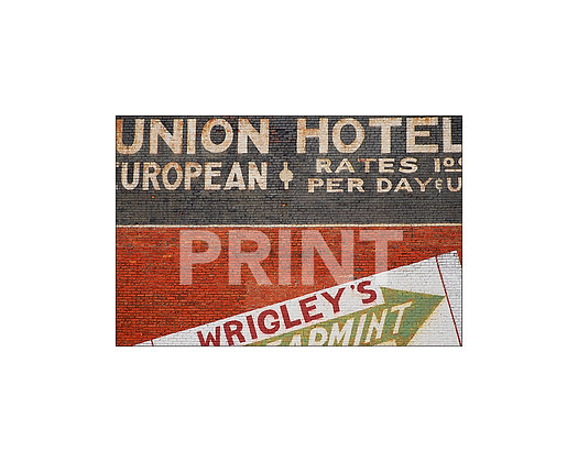 """Union Hotel Mural"" Meridian,Mississippi"