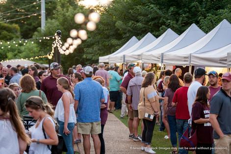Night Market, Starkville, Mississippi