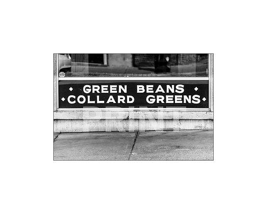 """Green Beans & Collard Greens"" Laurel, Mississippi"