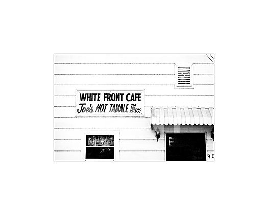 """White Front Cafe"" Rosedale, Mississippi"