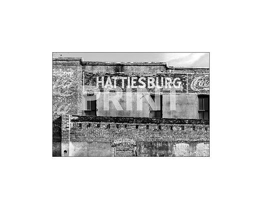 """""""Hattiesburg Mural"""" Hattiesburg, Mississippi"""