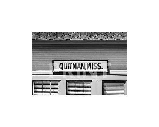 """Quitman Depot"" Quitman, Mississippi"