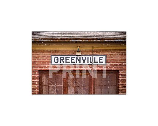 """""""Greenville Depot"""" Greenville, Mississippi"""