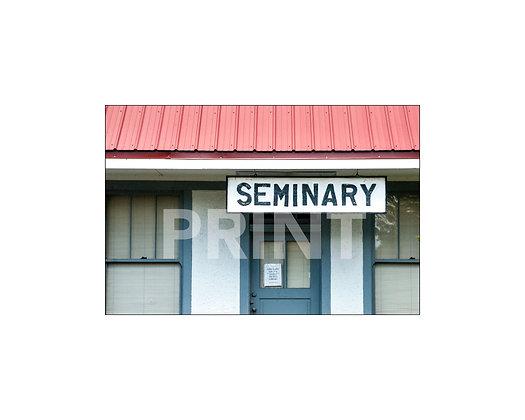 """Seminary Depot"" Seminary, Mississippi"