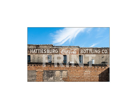 """Hattiesburg Bottling Co. Mural"" Hattiesburg, Mississippi"