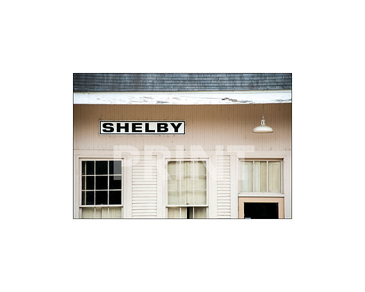 """Shelby Depot"" Shelby, Mississippi"