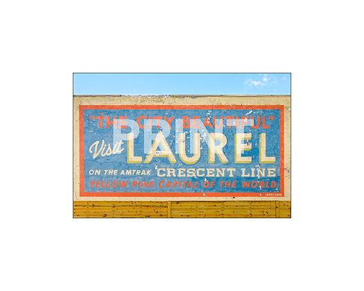 """The City Beautiful Mural"" Laurel, Mississippi"