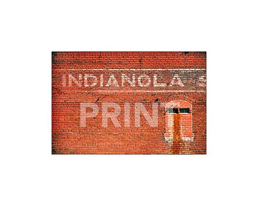 """Indianola Mural"" Indianola, Mississippi"
