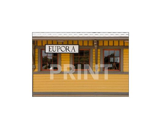 """Eupora Depot"" Eupora, Mississippi"