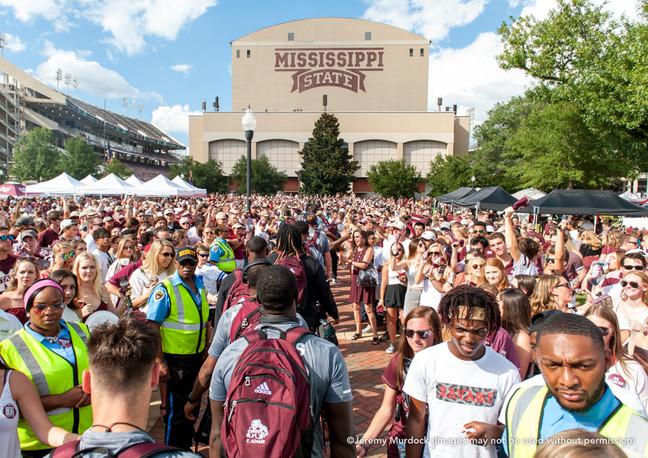 The Dawg Walk, Mississippi State University