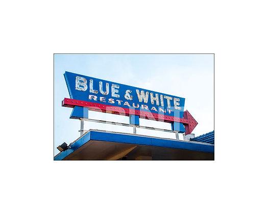"""""""Blue & White"""" Tunica, Mississippi"""