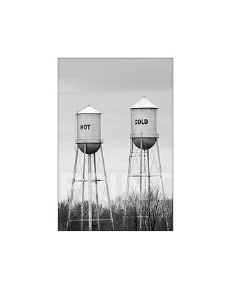 """""""Hot / Cold"""" Ruleville, Mississippi (portrait)"""