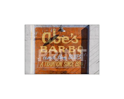 """Abe's BBQ"" Clarksdale, Mississippi"