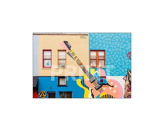 """""""Guitar Mural"""" Clarksdale, Mississippi"""