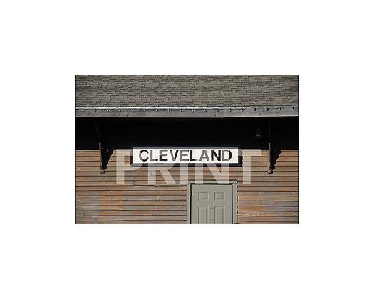 """""""Cleveland Depot"""" Cleveland, Mississippi"""