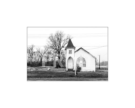 """St. Paul C.D.U. Fellowship Church"" Coahoma County, Mississippi"