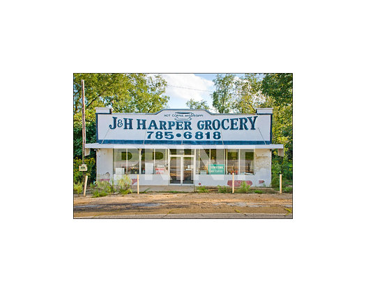 """J&H Harper Grocery"" Hot Coffee, Mississippi"
