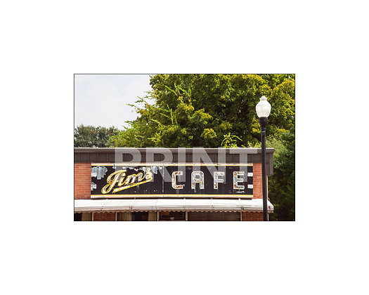 """Jim's Cafe"" Greenville, Mississippi"