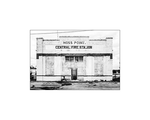 """""""Moss Point Central Fire Station"""" Moss Point, Mississippi"""