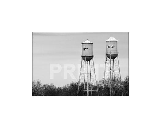 """""""Hot / Cold"""" Ruleville, Mississippi (landscape)"""